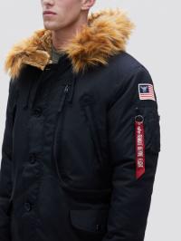 Куртка мужские Alpha Industries модель MJN49503C1_black цена, 2017
