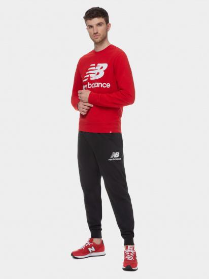 Спортивні штани New Balance Essentials модель MP03558BK — фото 4 - INTERTOP