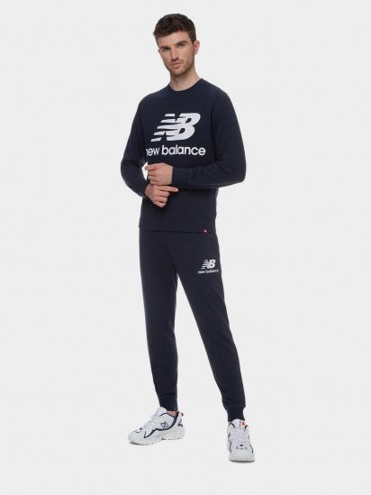 Спортивні штани New Balance Essentials Stacked Logo модель MP03558ECL — фото 3 - INTERTOP
