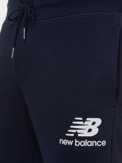 Спортивні штани New Balance Essentials Stacked Logo модель MP03558ECL — фото 4 - INTERTOP