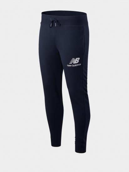 Спортивні штани New Balance Essentials Stacked Logo модель MP03558ECL — фото 5 - INTERTOP