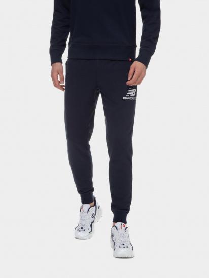 Спортивні штани New Balance Essentials Stacked Logo модель MP03558ECL — фото - INTERTOP