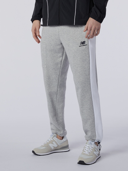 Спортивні штани New Balance Athletics Fleece модель MP11501AG — фото - INTERTOP