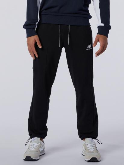 Спортивні штани New Balance Athletics Fleece модель MP11501BK — фото - INTERTOP