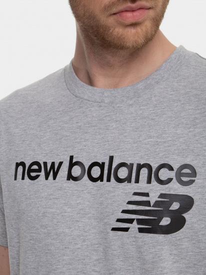 Футболка New Balance Classic Core Logo модель MT03905AG — фото 3 - INTERTOP
