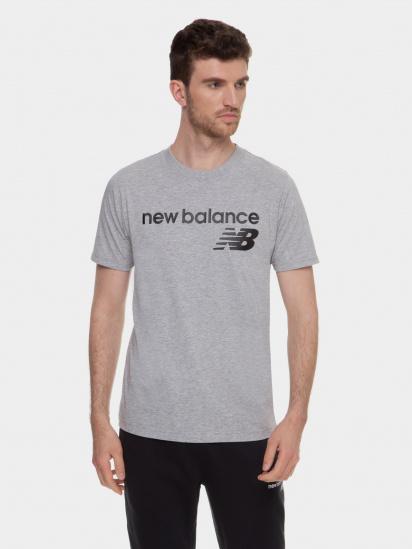 Футболка New Balance Classic Core Logo модель MT03905AG — фото - INTERTOP