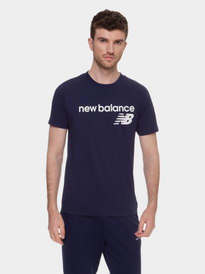 Футболка New Balance Classic Core Logo модель MT03905PGM — фото - INTERTOP