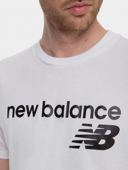 Футболка New Balance Classic Core Logo модель MT03905WT — фото 3 - INTERTOP