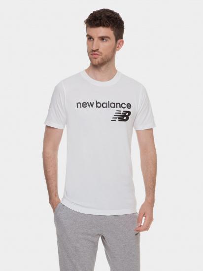 Футболка New Balance Classic Core Logo модель MT03905WT — фото - INTERTOP