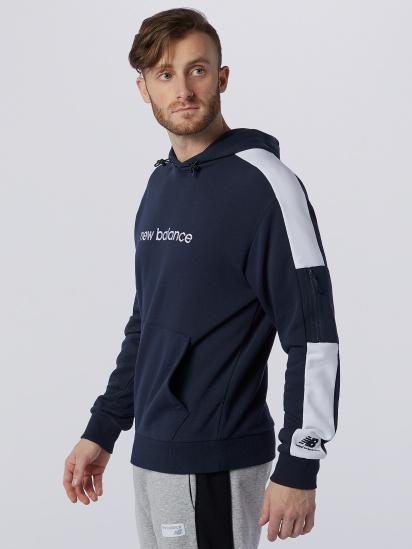 Худі New Balance Athletics Fleece модель MT11500ECL — фото 3 - INTERTOP