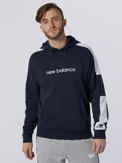 Худі New Balance Athletics Fleece модель MT11500ECL — фото - INTERTOP