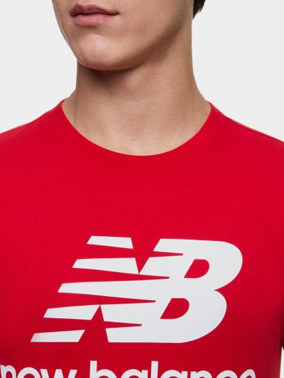 Футболка New Balance Essentials модель MT01575REP — фото 3 - INTERTOP