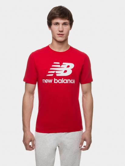 Футболка New Balance Essentials модель MT01575REP — фото - INTERTOP