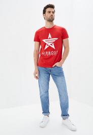 Футболка мужские Airboss модель MSU332588_red , 2017