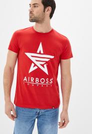 Футболка мужские Airboss модель MSU332588_red цена, 2017