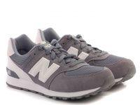 детская обувь New Balance серого цвета, фото, intertop