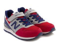 детская обувь New Balance красного цвета, фото, intertop