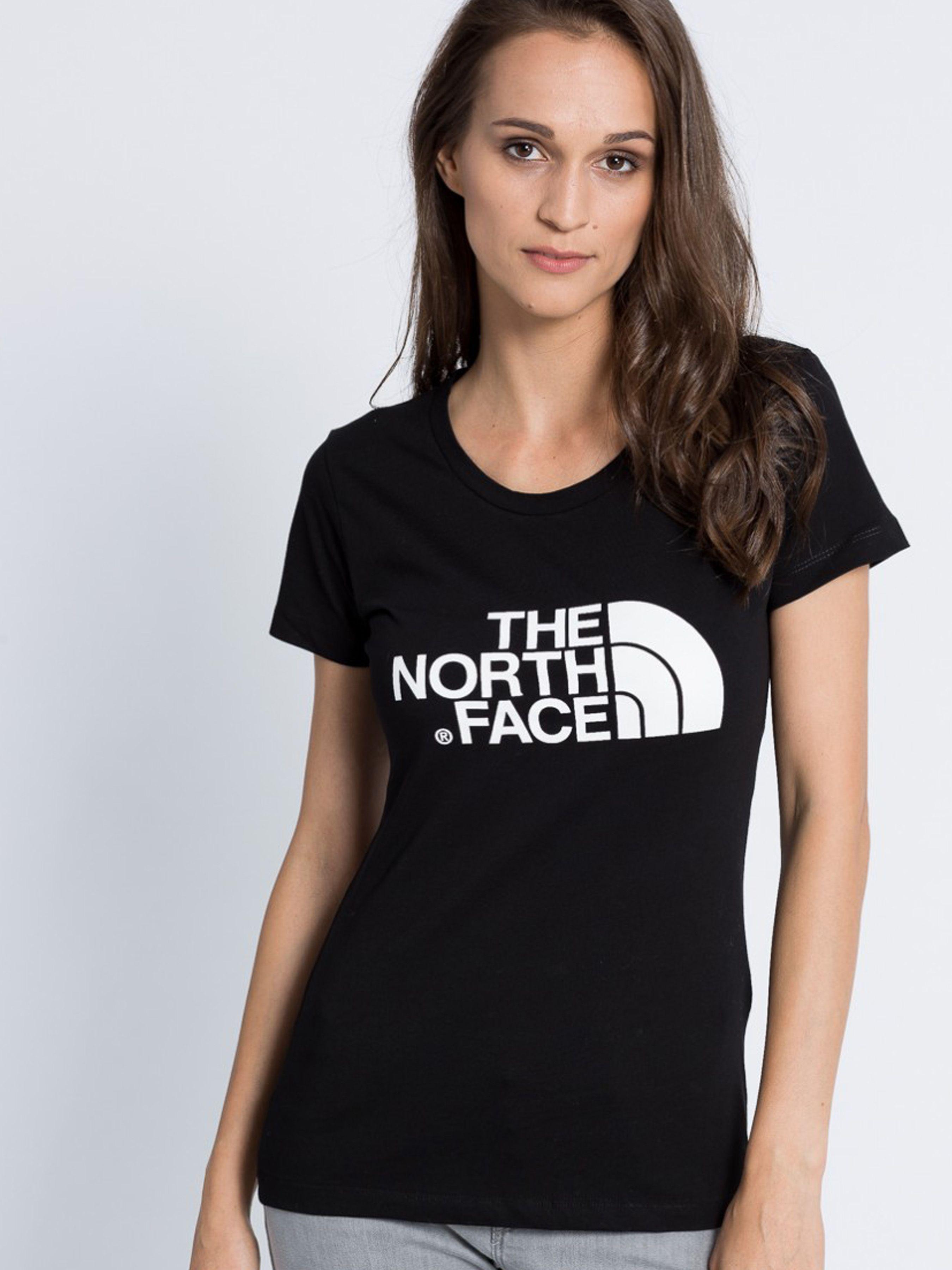 Купить Футболка женские модель N1137, The North Face, Черный