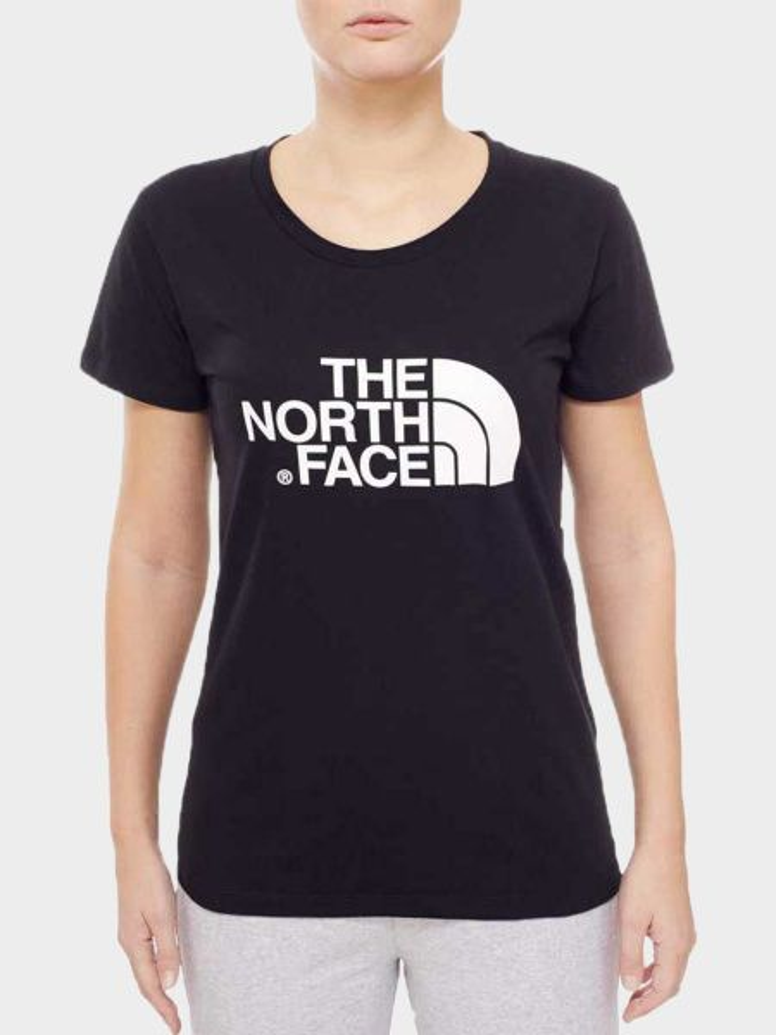 Купить Футболка женские модель N1406, The North Face, Черный