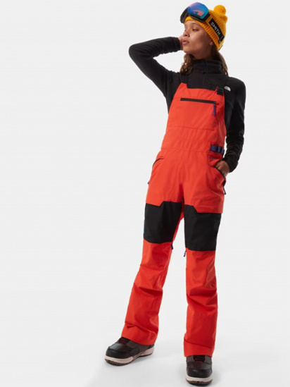 Комбінезон The North Face Team Kit Bib модель NF0A4R1BSH91 — фото - INTERTOP