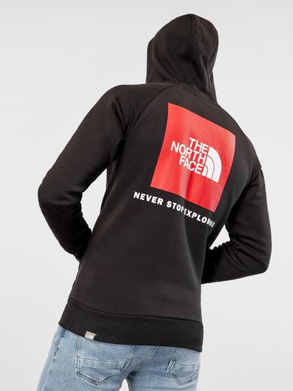 Худі The North Face Raglan Red Box модель NF0A2ZWUJK31 — фото 2 - INTERTOP