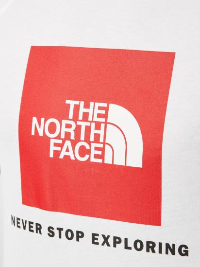 Футболка The North Face Raglan Red Box модель NF0A3BQOLB11 — фото 4 - INTERTOP