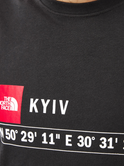 Футболка The North Face GPS T-Shirt Kyiv модель NF0A55B7JK31 — фото 3 - INTERTOP