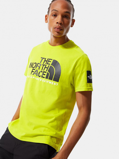 Футболка The North Face S/S Fine Alpine Tee 2 модель NF0A4M6NJE31 — фото - INTERTOP