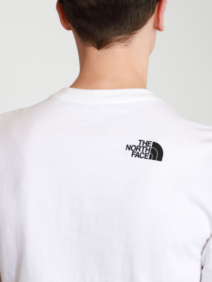 Футболка The North Face WARPED TYPE GRAPHIC модель NF0A55TNFN41 — фото 6 - INTERTOP
