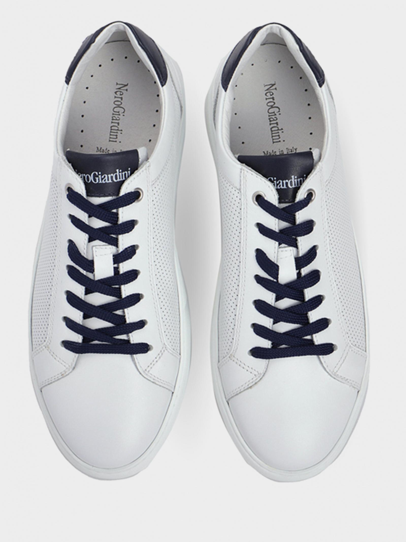 Кеды мужские NeroGiardini E001551U-707 брендовая обувь, 2017