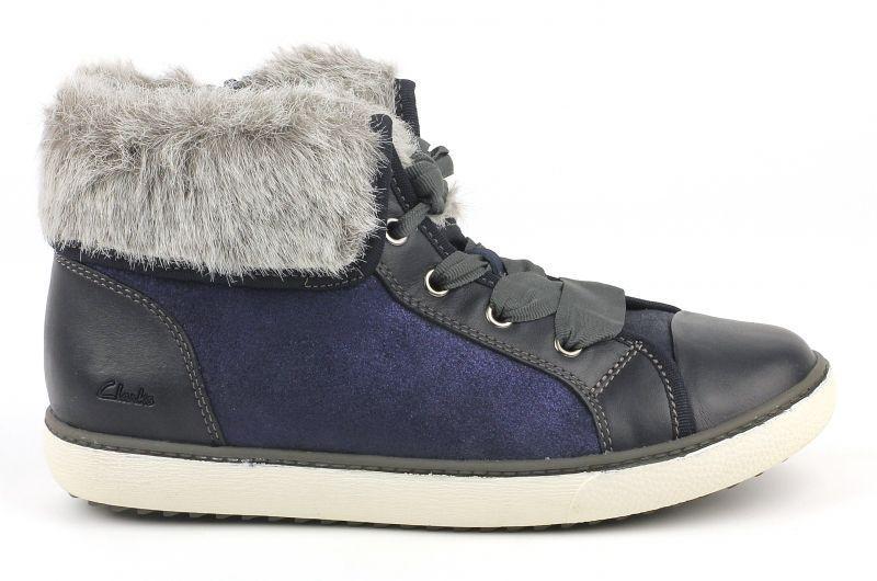 Купить Ботинки детские Clarks Zora Dress Jnr OK1250, Синий