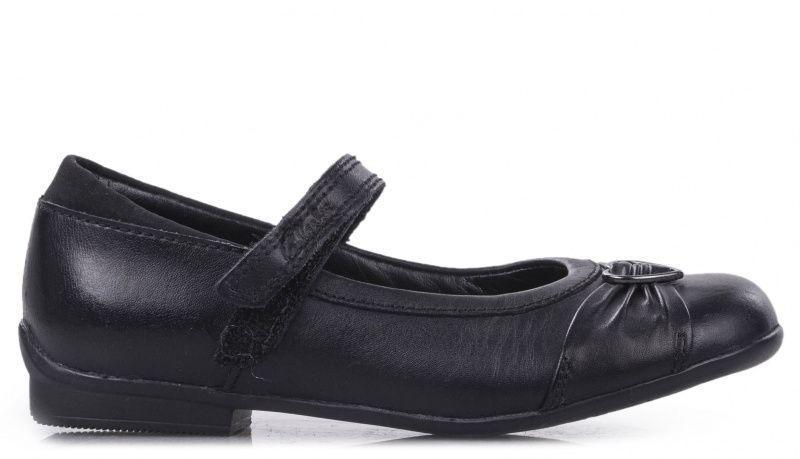 Купить Балетки детские Clarks OK1421, Черный