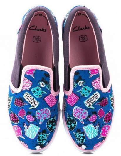 Сліпони  для дітей Clarks Brill Idol Jnr 2611-5030 брендове взуття, 2017