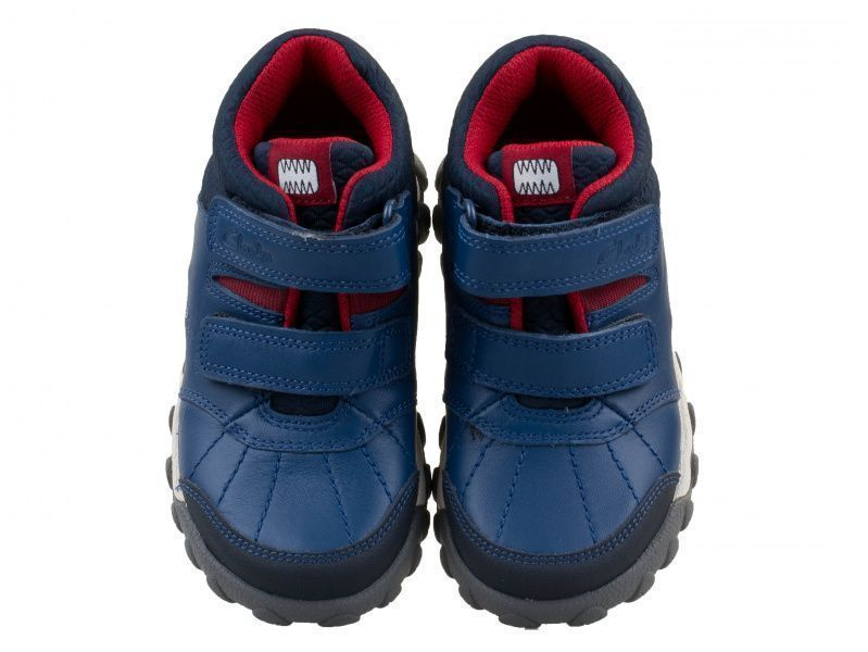 Ботинки детские Clarks Tyrex Glo Inf OK2154 примерка, 2017