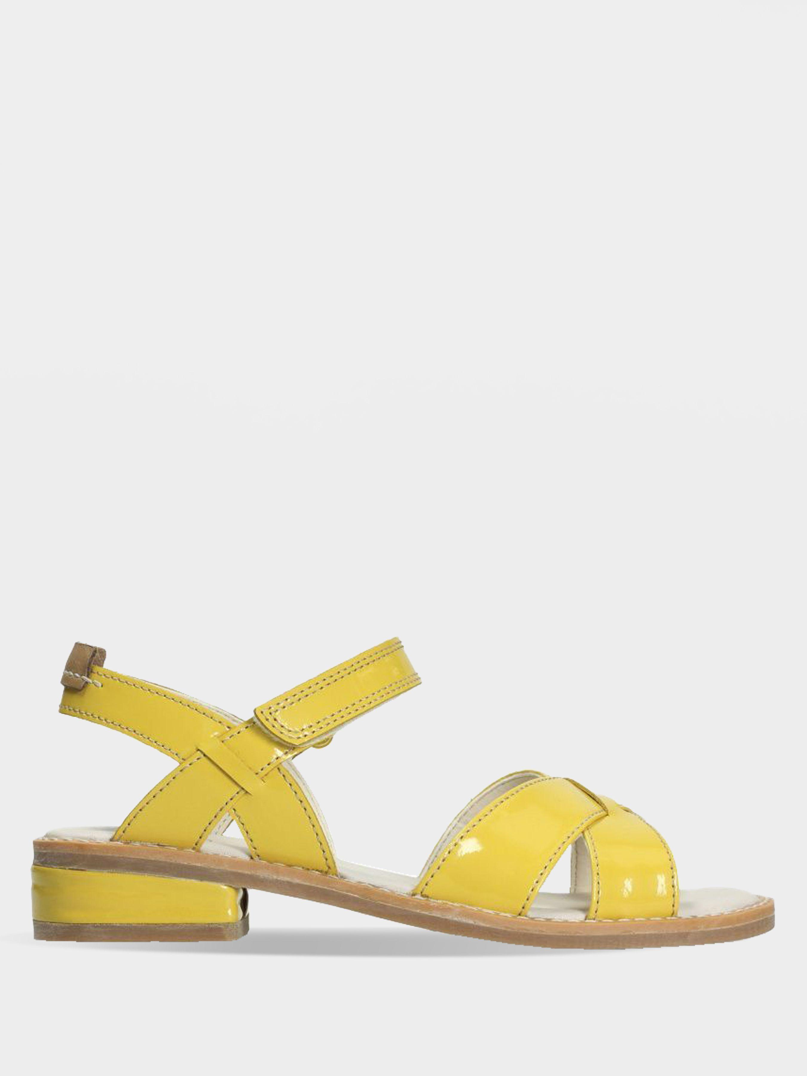 Купить Босоножки детские Clarks Darcy Charm OK2167, Желтый