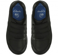 Полуботинки детские Clarks Flare Lite Jnr 2611-8930 брендовая обувь, 2017