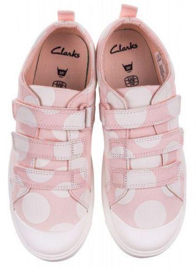 Напівчеревики  для дітей Clarks City FlareLo K 2614-0460 розмірна сітка взуття, 2017