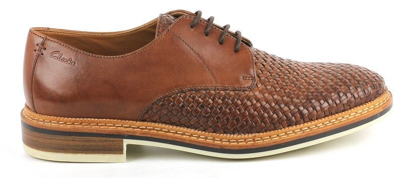 Купить Туфли мужские Clarks OM2054, Коричневый