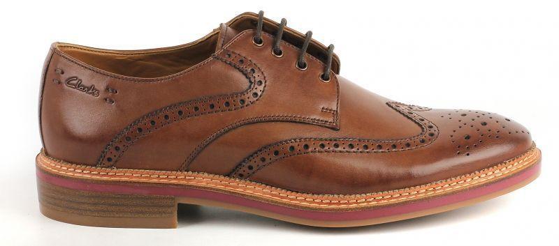 Купить Туфли мужские Clarks OM2056, Коричневый