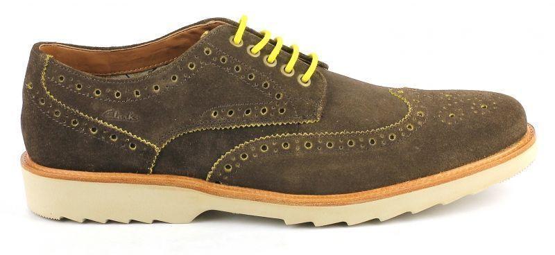 Купить Туфли мужские Clarks OM2076, Коричневый