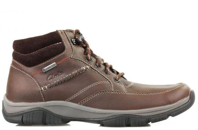 Купить Ботинки мужские Clarks RampartMid GTX OM2293, Коричневый