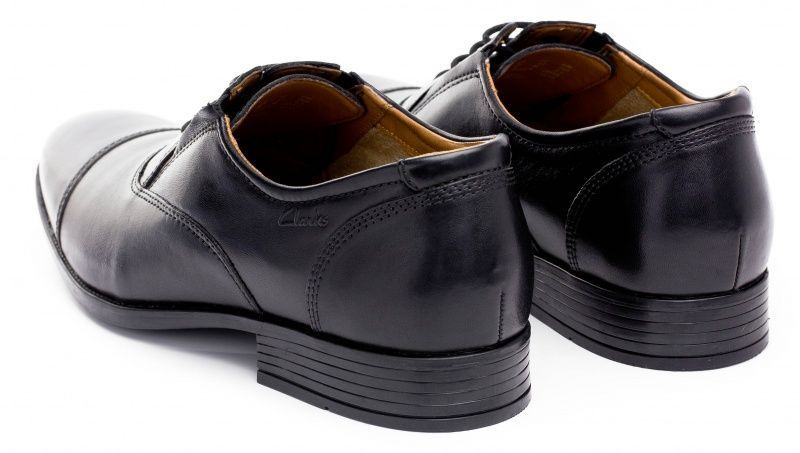 Туфли для мужчин Clarks Kalden Cap OM2370 купить, 2017
