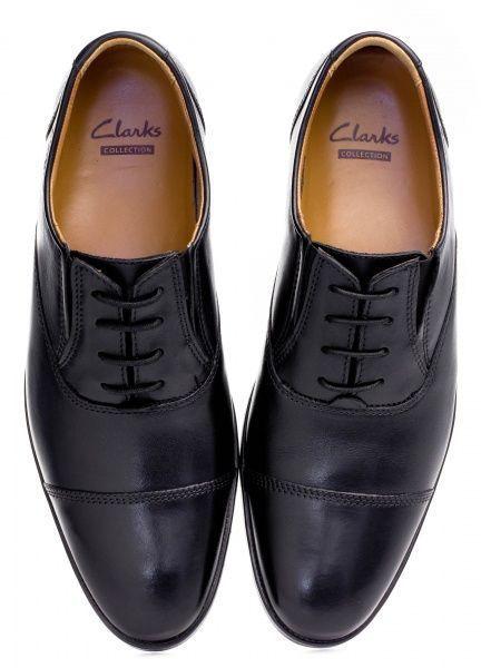 Туфли для мужчин Clarks Kalden Cap OM2370 смотреть, 2017