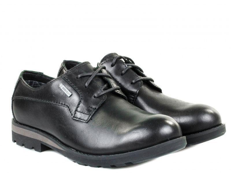 Купить Полуботинки мужские Clarks PadleyLace GTX OM2469, Черный