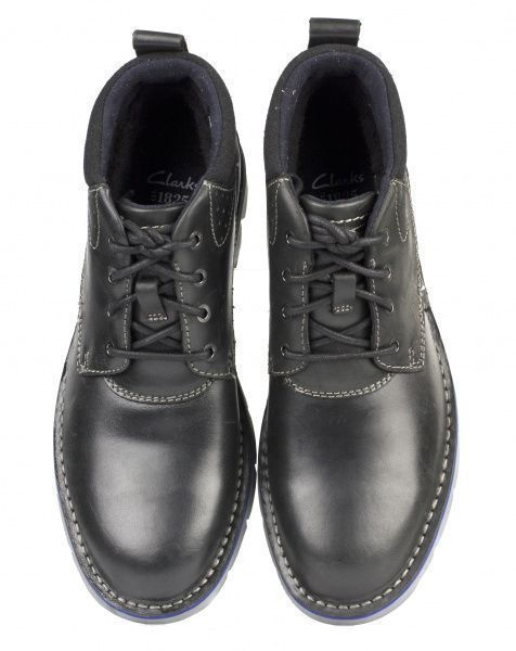 Ботинки для мужчин Clarks Varick Hill OM2495 размеры обуви, 2017