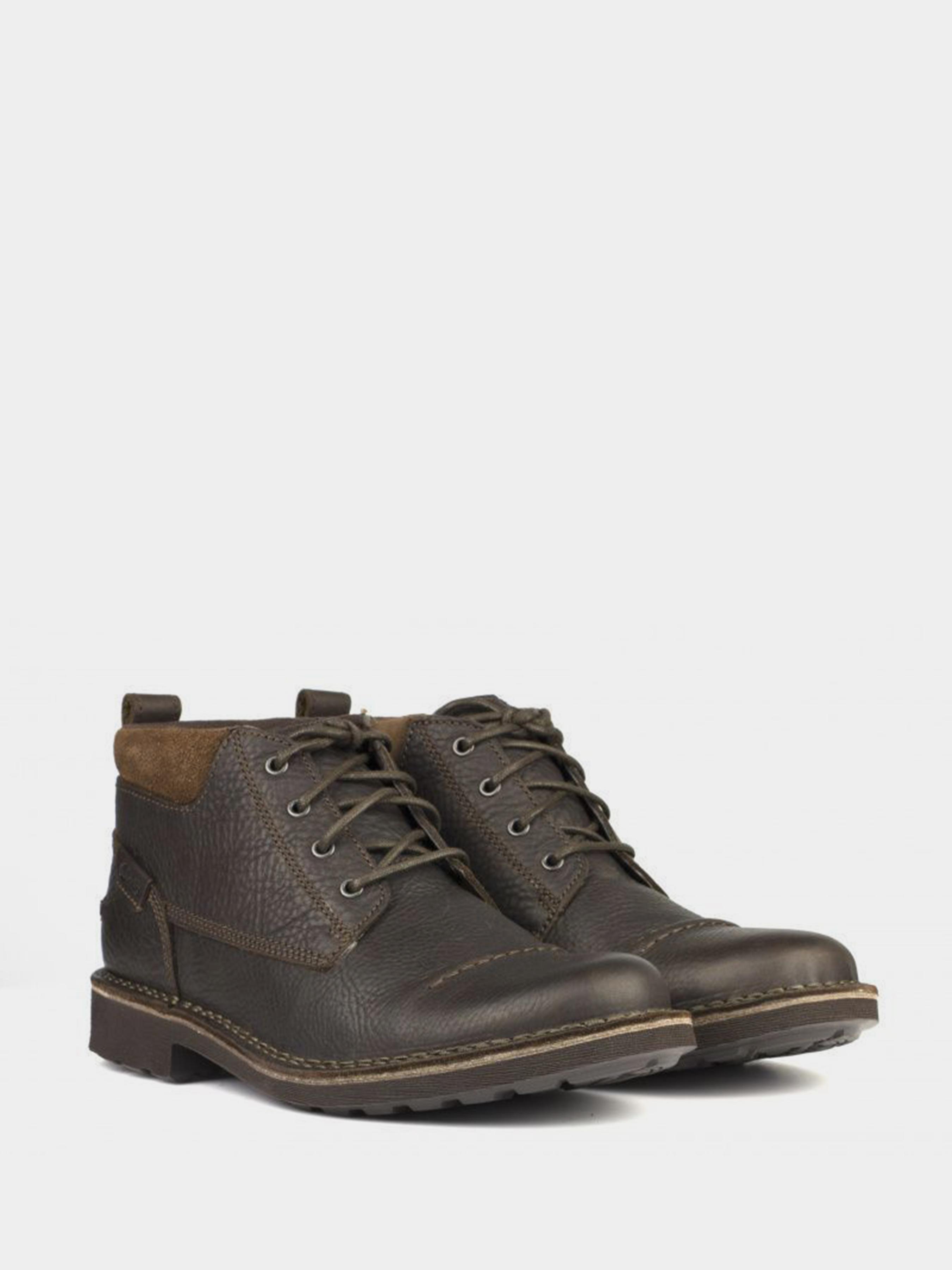 Ботинки мужские Clarks Lawes Top OM2645 брендовая обувь, 2017