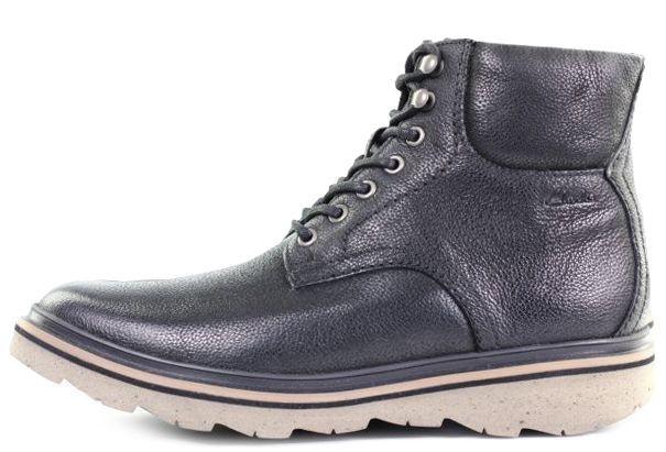 Ботинки мужские Clarks FRELAN TOP OM2655 брендовая обувь, 2017