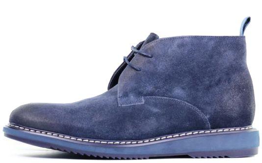 Ботинки мужские Clarks KENLEY MID OM2680 брендовая обувь, 2017