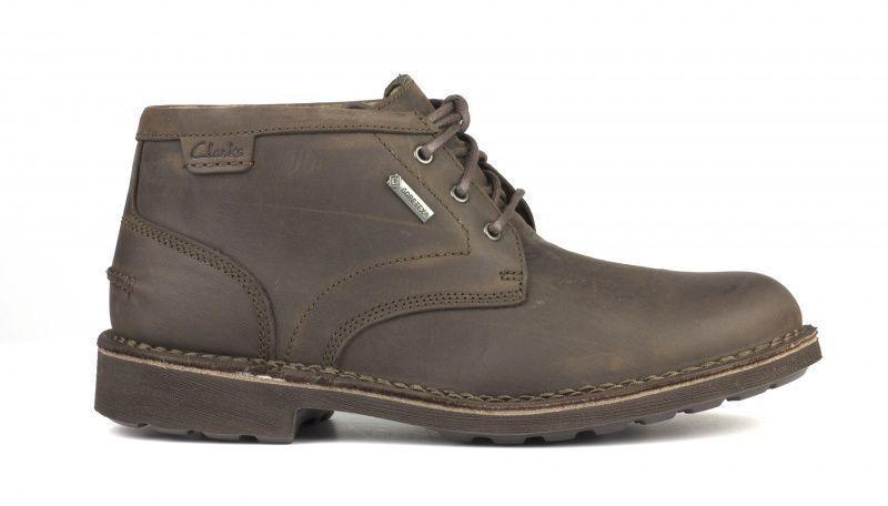 Ботинки для мужчин Clarks LAWES MID GTX OM2686 примерка, 2017