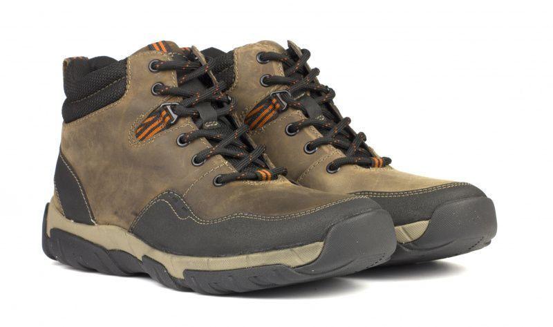 Ботинки мужские Clarks WALBECK TOP OM2689 размерная сетка обуви, 2017